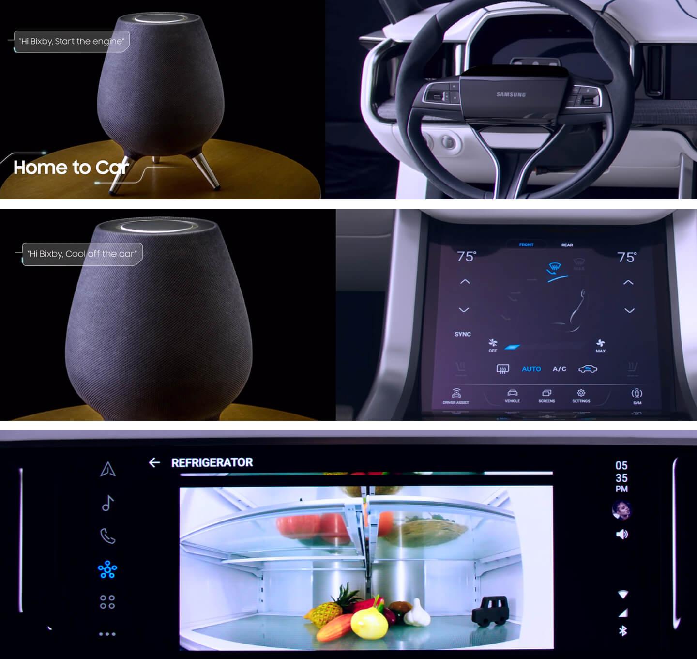 Digital cockpit Bixby