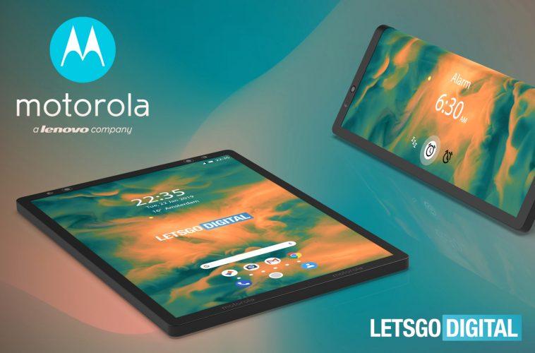 Motorola foldable smartphone