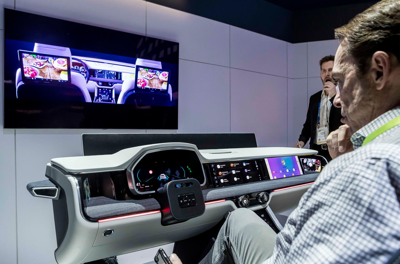 Samsung digital cockpit 2019