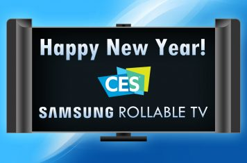 Samsung rollable TV