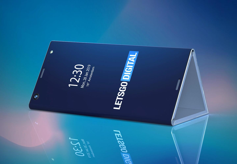 Intel foldable