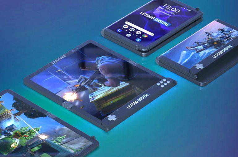 Samsung foldable gaming phone